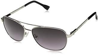 Elie Tahari Women's EL 205 SLV Aviator Sunglasses