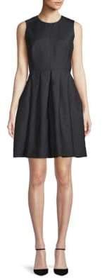 Burberry Sleeveless A-Line Dress