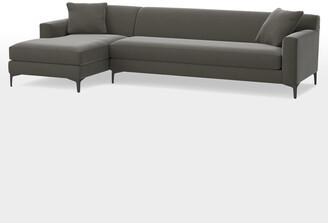 Rejuvenation Hawthorne Sectional Sofa - Chaise Left