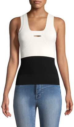 Narciso Rodriguez Women's Colorblocked Tank Top