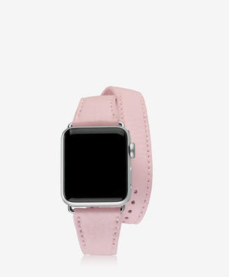 GiGi New York 38mm Double Wrap [br] Apple Watch Band Pebble Grain