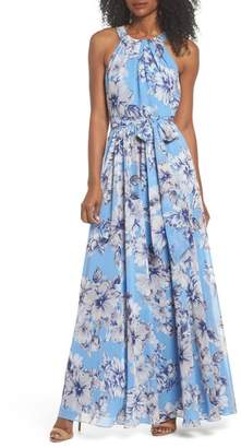 Eliza J Halter Maxi Dress