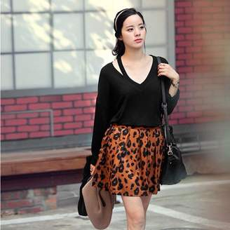 Feel Summer Women'S Loose Long Sleeve Round Collar Clothing Off Shoulder Cotton Blend Ladies Solid Casual Blouse Shirt Tops