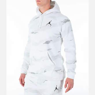 Nike Men's Jordan Sportswear Camo Flight Fleece Hoodie