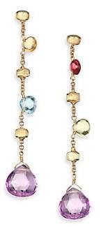 Marco Bicego Women's Paradise Semi-Precious Multi-Stone Multicolor 18K Yellow Gold Drop Earrings