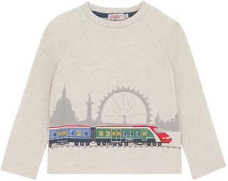 Cath Kidston Long Sleeved London Trains T-shirt