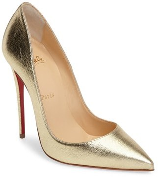 Christian Louboutin So Kate Pointy Toe Pump $695 thestylecure.com