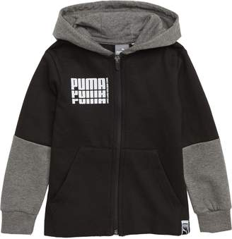 Puma Rebel Fleece Zip Hoodie