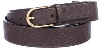 Louis Vuitton Empreinte Gracieuse 30MM Belt