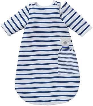 Vertbaudet Long-Sleeved Baby Sleep Bag, Fun Sailor Theme