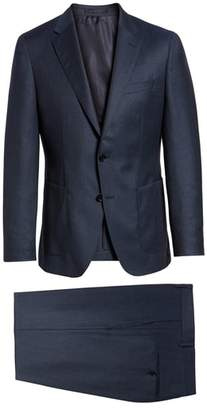 BOSS Hunter/Goswin Trim Fit Solid Wool Suit