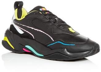 Puma Men's Thunder Bradley Leather Low-Top Sneakers