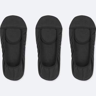 Uniqlo Women's Square Cut Footsies (3 Pairs)