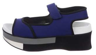 Marni Flatform Wedge Sandals