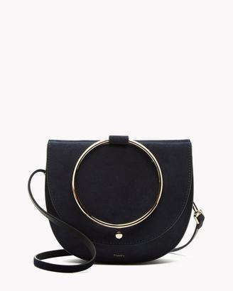 Whitney Hoop Bag in Luxe Suede $295 thestylecure.com