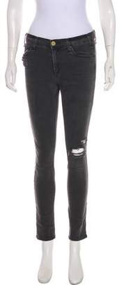 McGuire Denim Mid-Rise Distressed Jeans