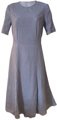 Hobbs Blue Cotton Dress for Women