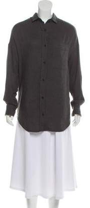 Laurence Dolige Long Sleeve Button-Up Top