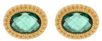 Judith Ripka Sanibel Oval Stone Stud Earrings