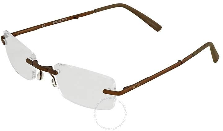 B+D Folding Readers Matt Brown/Brown Eyeglasses