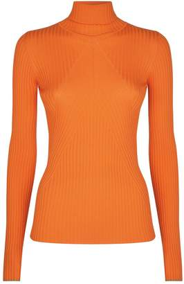 Victoria Beckham Slim Polo Neck Sweater