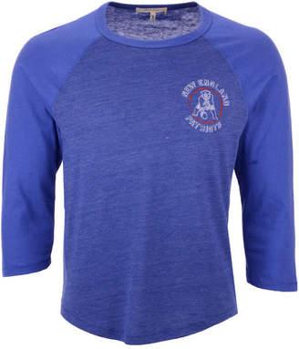 0bf2036fa Authentic Nfl Apparel Men New England Patriots End Around Three-Quarter  Raglan T-Shirt