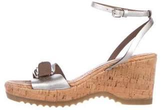 Stella McCartney Vegan Wedge Sandals