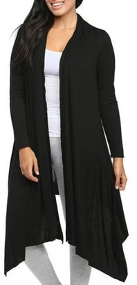 24/7 Comfort Apparel Women's Flowing Long Sleeve Shrug
