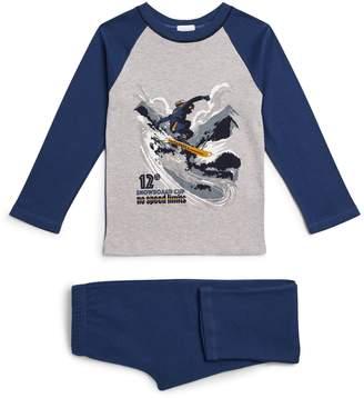 La Perla Snowboard Pyjama Set