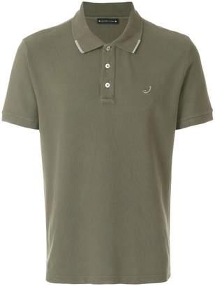 Jacob Cohen logo patch polo shirt