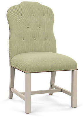 Bunny Williams Home Jack Side Chair - Green Stripe