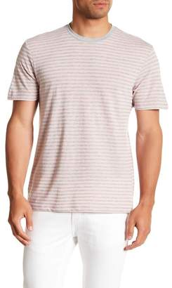 Public Opinion Short Sleeve Striped Crew Neck T-Shirt