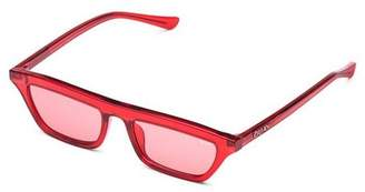 Cat Eye Quay Sunglasses **Red Finesse Sunglasses by Quay