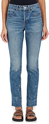 Helmut Lang Women's Crop Jeans $310 thestylecure.com