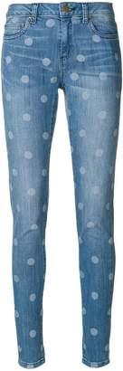 MICHAEL Michael Kors polka-dot skinny jeans