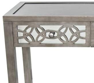 Rosdorf Park Azariah Mirrored 2 Drawer Console Table