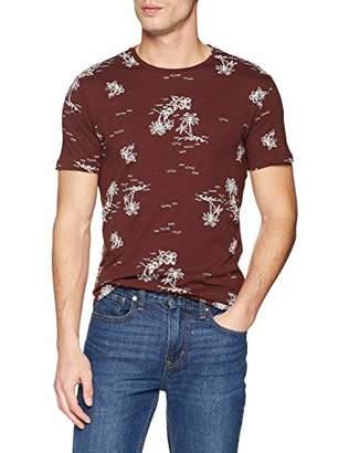 f347bf141 at Amazon.co.uk · Antony Morato Men's T Shirt GIROCOLLO Manica Corta Stampa  All Over Palme,L