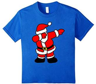 Funny Dabbing Santa Claus Christmas T-Shirt