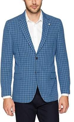 Nautica Men's Seersucker Sportcoat Blazer