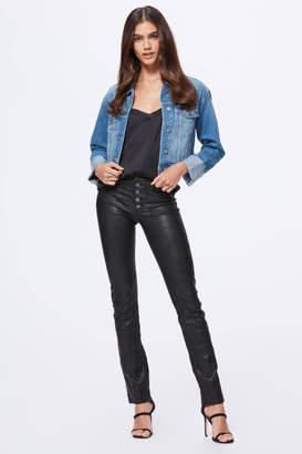 Paige Denim Cropped Jojo Jacket