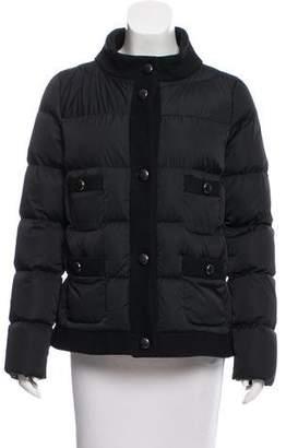 moncler womens down long flamme jacket