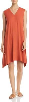 Eileen Fisher V-Neck Swing Dress