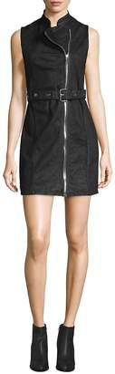 DL1961 Premium Denim Women's Robyn Moto Belted Dress