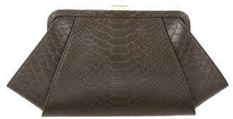 Zac Posen Embossed Leather Clutch