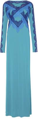 Emilio Pucci Lace Applique Long Dress