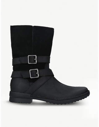 UGG Lorna leather boots