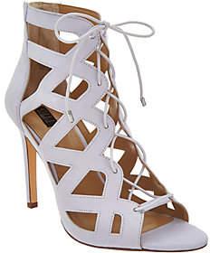 G.I.L.I. got it love it G.I.L.I. Lace-up Cut Out Heel Sandals -Floriana