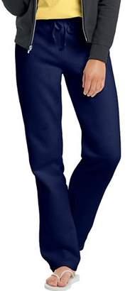 Hanes W550 Ecosmart Cotton-Rich Women Drawstring Sweatpants Size 2 Extra Large, Deep Navy