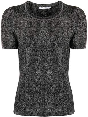 Alexander Wang short sleeve knit top