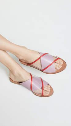 Diane von Furstenberg Bailie 4 Crisscross Slides